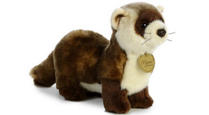 Carl Dick Ferret, 9.5 Inches, 15 Inches With Tail Plush Toy